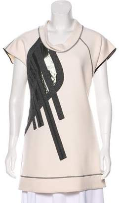 Derek Lam Virgin Wool Embroidered Tunic