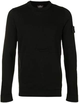 Stone Island Shadow Project classic crew neck sweater