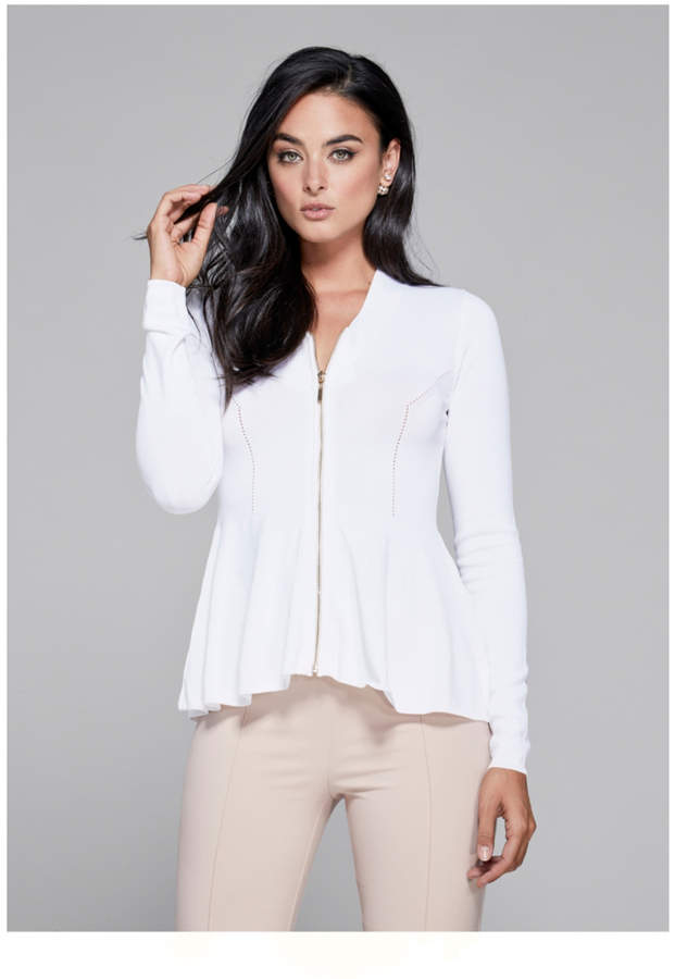 Guess Cardigan Zip-Front Sweater