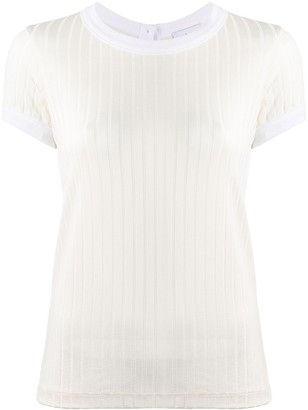 Each X Other silky ribbed T-shirt