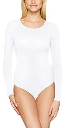 Yummie Women's Long Sleeve Seamless Shaping Thong Bodysuit
