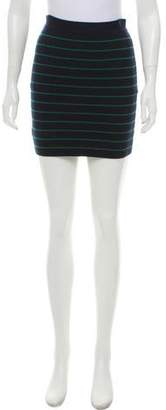 Boy By Band Of Outsiders Stripe Bodycon Skirt