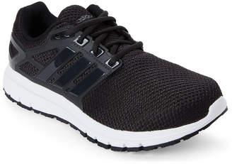 adidas Black & White Energy Cloud Wide Running Sneakers