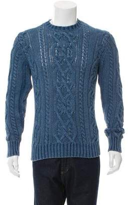 Faherty Cable Knit Crew Neck Sweater w/ Tags