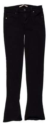 Vince Low-Rise Straight-Leg Jeans