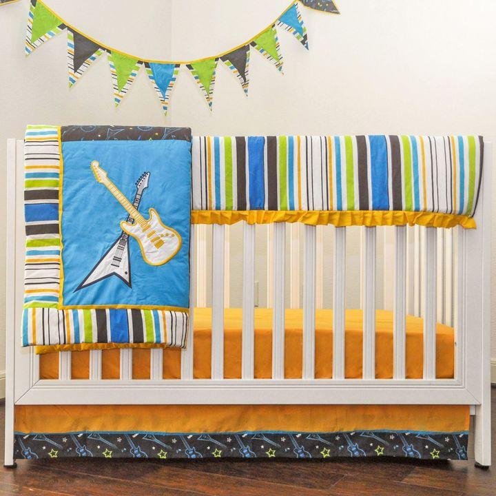 Pam Grace Creations Rockstar Crib Bedding Collection