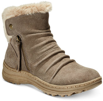 Bare Traps Amelya Cold-Weather Booties $99 thestylecure.com