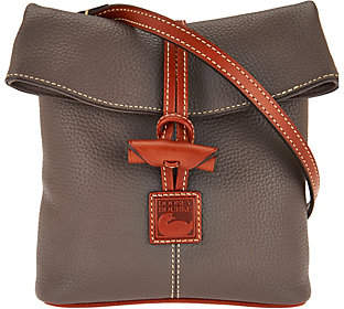As Is Dooney & Bourke Pebble Leather Toggle Crossbody