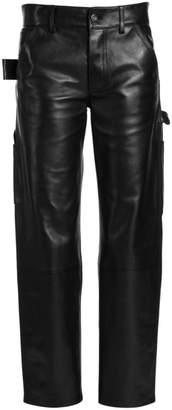 Bottega Veneta Leather Carpenter Pants