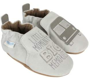 Infant Boys' Big Bus Crib Shoe.