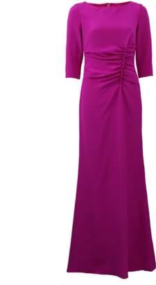Oscar de la Renta Ruched Gown