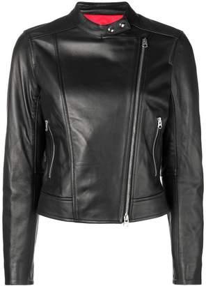 Calvin Klein slim-fit biker jacket