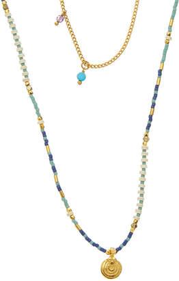 Chan Luu Gemstone & Crystal Necklace