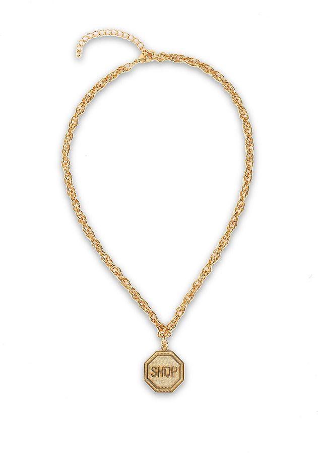MoschinoMoschino Shop Necklace