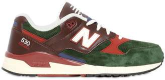New Balance 530 Leather & Suede Sneakers