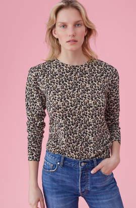 Rebecca Taylor Leopard Print Pullover