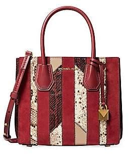 Michael Kors Women's Mercer Medium Accordion Messenger Bag