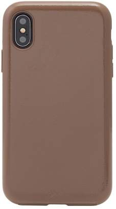 Sonix Black Patent Faux Leather iPhone X\u002FXs Case