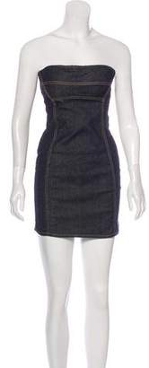 DSQUARED2 Denim Mini Dress w/ Tags