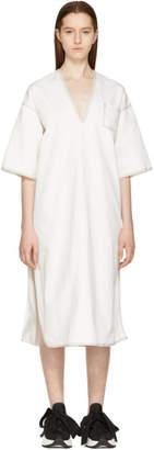 Maison Margiela Off-White Dyed Kimono Dress