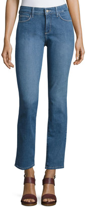 NYDJ Sheri Slim-Fit Denim Jeans, Blue $79 thestylecure.com
