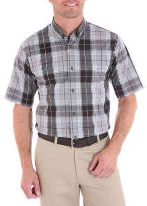Wrangler Men's Advanced Comfort Short Sleeve Casual Button Down shirt