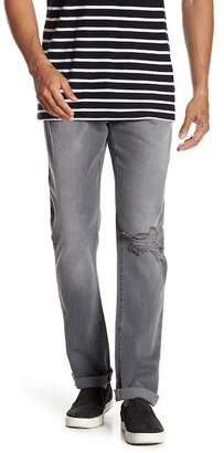 Frame L'Homme Distressed Slim Fit Jeans