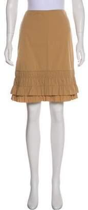 Prada Knee-Length A-Line Skirt