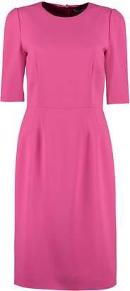 Dolce & Gabbana Short Sleeves Cady Dress