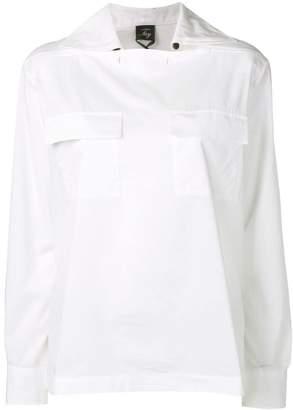 Fay front pockets blouse