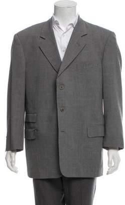 Valentino Virgin Wool Three-Button Blazer