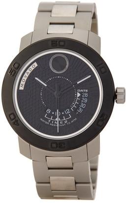 Movado Men's Swiss Quartz Bold Bracelet Watch $795 thestylecure.com