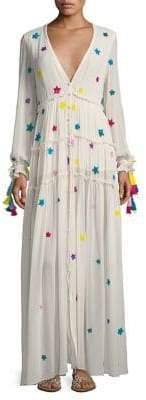 Rococo Sand Star Beaded Long Dress