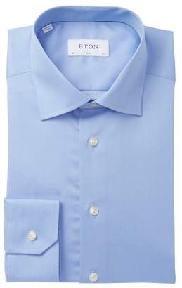 Eton Micro Pin Dot Slim Fit Dress Shirt