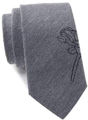 Calvin Klein Indigo Rose Tie