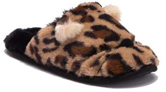 Chinese Laundry Kitty Kat Cheetah Slipper
