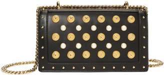 Balmain Coin And Pearl Encrusted Shoulder Bag