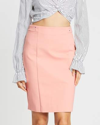 Mng Stud Pencil Skirt