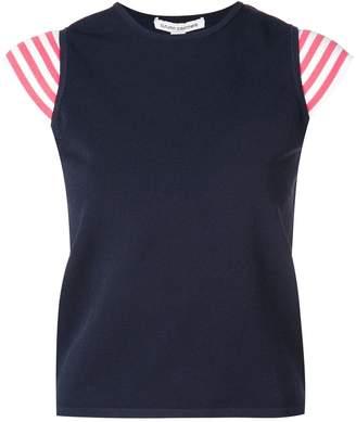 Autumn Cashmere stripe sleeve top