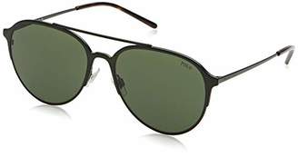 Polo Ralph Lauren Men's Metal Man Sunglass Aviator Sunglasses