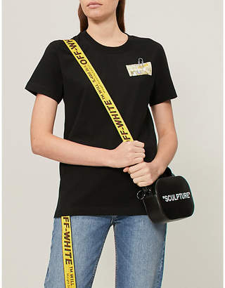 Off-White Letters cotton-jersey T-shirt