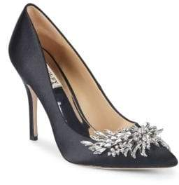 Badgley Mischka Marcela Embellished Stiletto Pumps