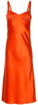Dion Lee layered satin dress