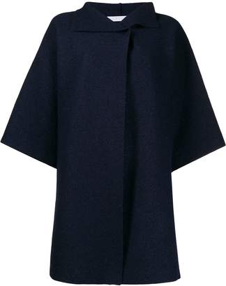 Harris Wharf London oversized wide sleeve coat