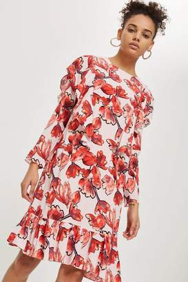 Topshop Yas Floral Skater Dress by YAS