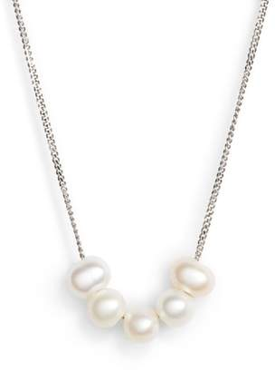 Chan Luu Pearl Detail Layering Necklace