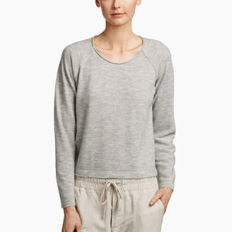 James Perse TEXTURED CASHMERE PULLOVER