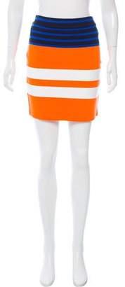 Alexander Wang Striped Mini Skirt w/ Tags