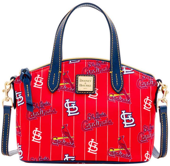 Dooney & Bourke St. Louis Cardinals Nylon Mini Crossbody Satchel - RED/NAVY - STYLE