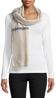 Eileen Fisher Artisanal Embroidered Scarf